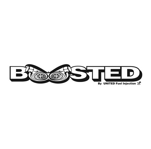 Boosted Sticker - 600mm x 107mm